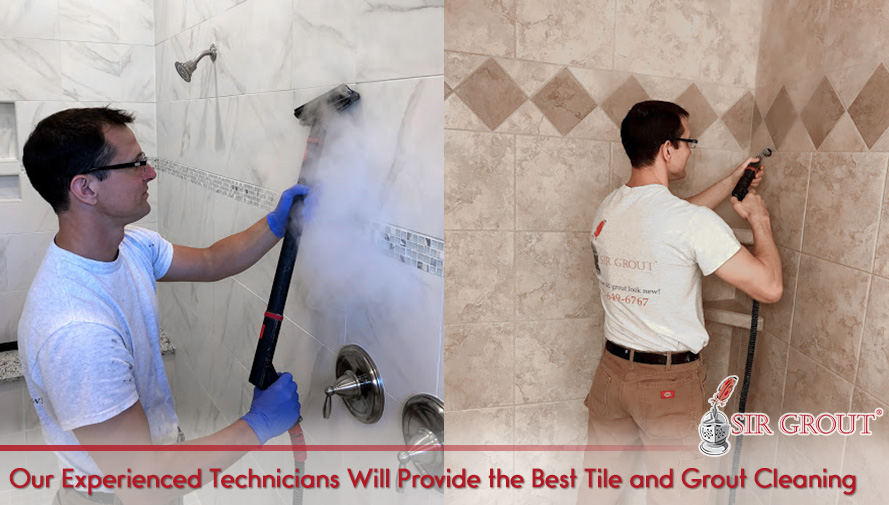 Our Experienced Technicians Will Provide the Best Tile Cleaning