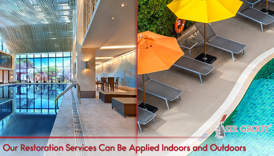 Our Restoration Services Can Be Applied Indoors and Outdoors